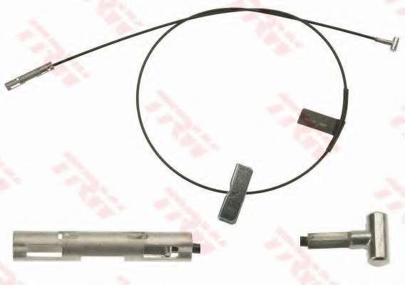 Трос, стояночная тормозная система TRW GCH126