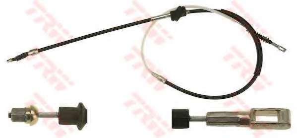 Трос, стояночная тормозная система TRW GCH1658