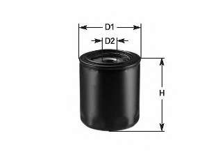 Масляный фильтр CLEAN FILTERS DO 846