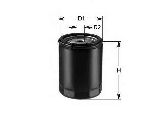 Масляный фильтр CLEAN FILTERS DO 854/A