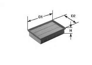 Воздушный фильтр CLEAN FILTERS MA1058