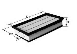 Воздушный фильтр CLEAN FILTERS MA3008