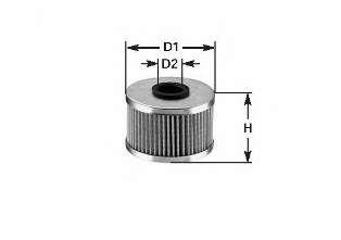 Топливный фильтр CLEAN FILTERS MG1600