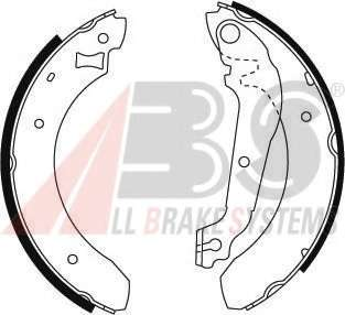 Комплект тормозных колодок A.B.S. 8705