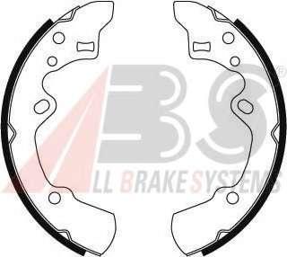 Комплект тормозных колодок A.B.S. 8839