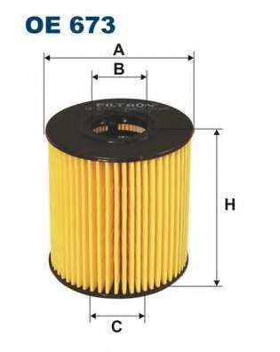 Масляный фильтр FILTRON OE673