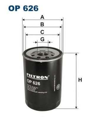 Масляный фильтр FILTRON OP626