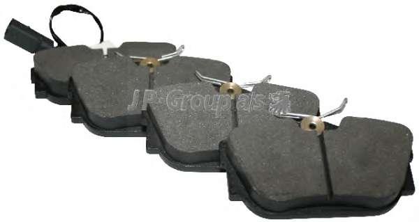 Комплект тормозных колодок, дисковый тормоз JP GROUP 1163706110