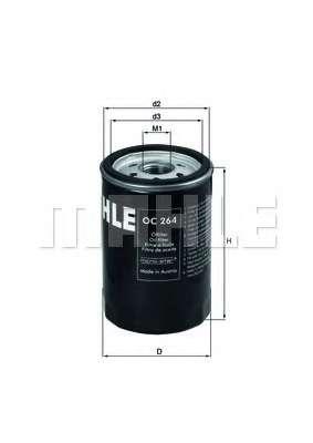 Масляный фильтр MAHLE ORIGINAL OC 264