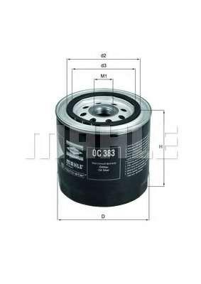 Масляный фильтр MAHLE ORIGINAL OC 383