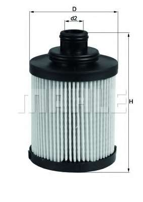 Масляный фильтр MAHLE ORIGINAL OX 418D
