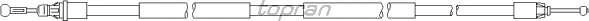 Трос, стояночная тормозная система TOPRAN 207 388