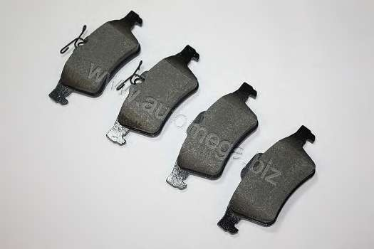 Комплект тормозных колодок, дисковый тормоз AUTOMEGA 3016050117