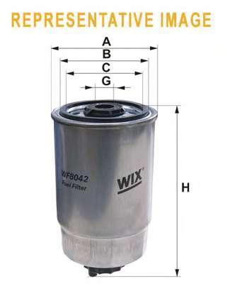Топливный фильтр WIX FILTERS WF8042