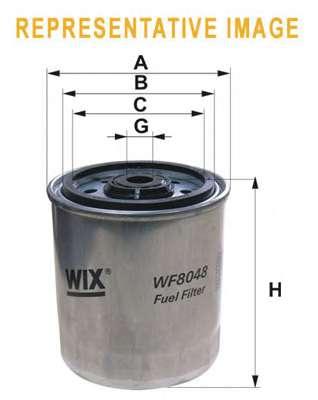 Топливный фильтр WIX FILTERS WF8048
