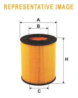 Масляный фильтр WIX FILTERS WL7423