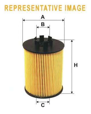 Масляный фильтр WIX FILTERS WL7429