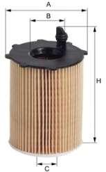 Масляный фильтр MFILTER TE 617