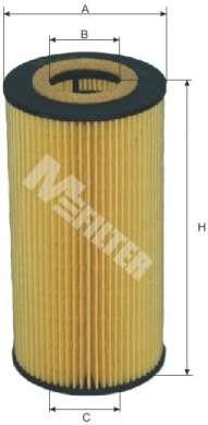 Масляный фильтр MFILTER TE 623