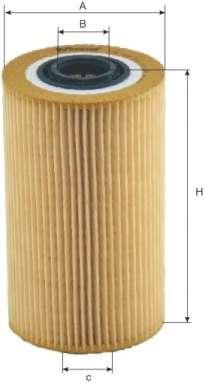 Масляный фильтр MFILTER TE 635