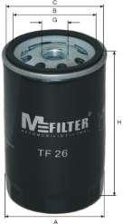 Масляный фильтр MFILTER TF 26