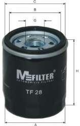 Масляный фильтр MFILTER TF 28