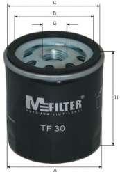 Масляный фильтр MFILTER TF 30