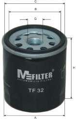 Масляный фильтр MFILTER TF 32