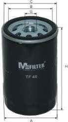 Масляный фильтр MFILTER TF 40