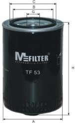 Масляный фильтр MFILTER TF 53