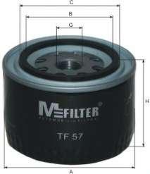 Масляный фильтр MFILTER TF 57