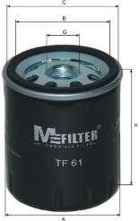Масляный фильтр MFILTER TF 61