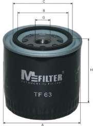 Масляный фильтр MFILTER TF 63