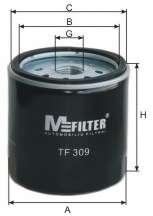 Масляный фильтр MFILTER TF 309