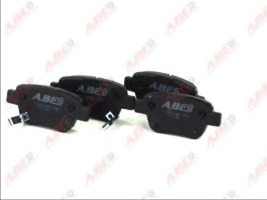 Комплект тормозных колодок, дисковый тормоз ABE C22031ABE