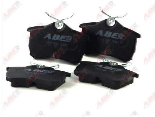 Комплект тормозных колодок, дисковый тормоз ABE C24011ABE