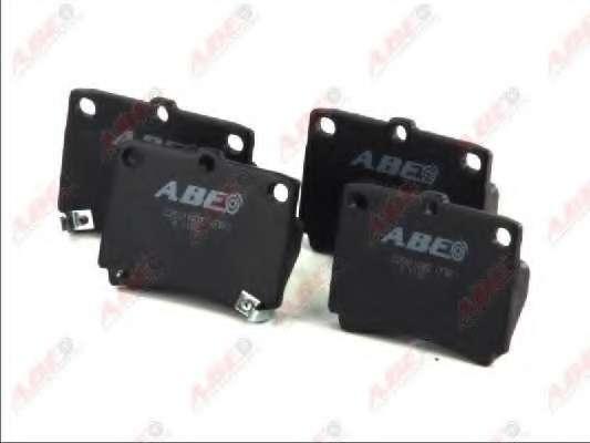 Комплект тормозных колодок, дисковый тормоз ABE C25011ABE