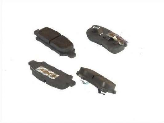 Комплект тормозных колодок, дисковый тормоз ABE C25012ABE