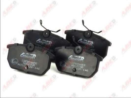 Комплект тормозных колодок, дисковый тормоз ABE C2F004ABE
