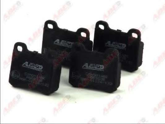 Комплект тормозных колодок, дисковый тормоз ABE C2M001ABE