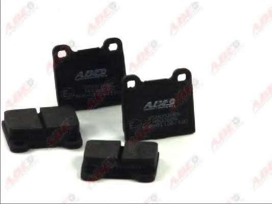 Комплект тормозных колодок, дисковый тормоз ABE C2M003ABE