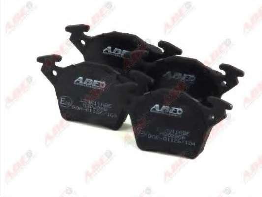 Комплект тормозных колодок, дисковый тормоз ABE C2M011ABE