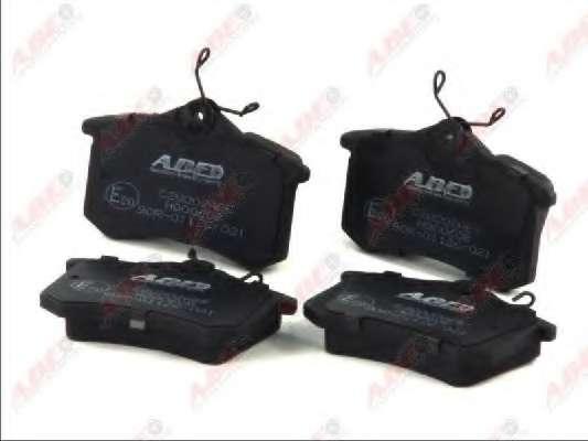 Комплект тормозных колодок, дисковый тормоз ABE C2W002ABE