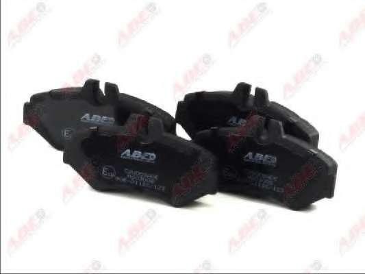 Комплект тормозных колодок, дисковый тормоз ABE C2W009ABE
