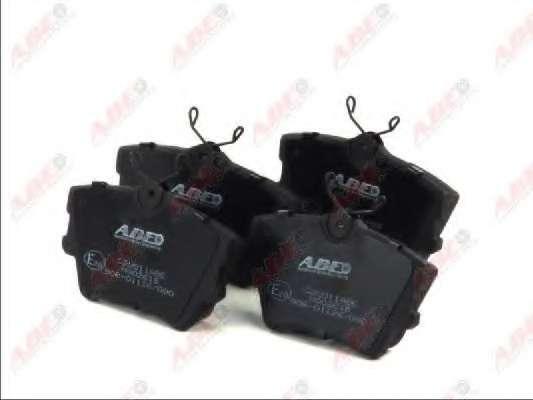 Комплект тормозных колодок, дисковый тормоз ABE C2W011ABE