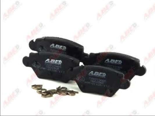 Комплект тормозных колодок, дисковый тормоз ABE C2X010ABE