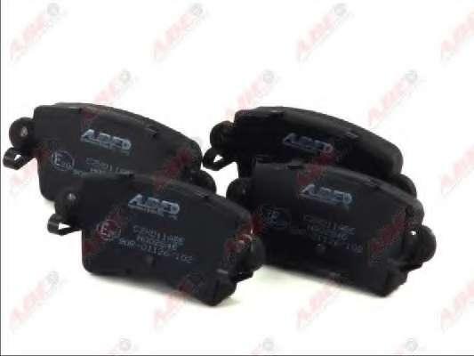 Комплект тормозных колодок, дисковый тормоз ABE C2X011ABE