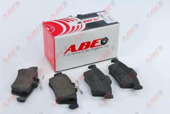 Комплект тормозных колодок, дисковый тормоз ABE C2X013ABE