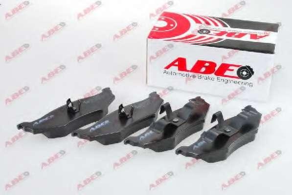 Комплект тормозных колодок, дисковый тормоз ABE C2Y000ABE