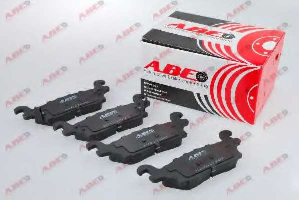 Комплект тормозных колодок, дисковый тормоз ABE C2Y017ABE